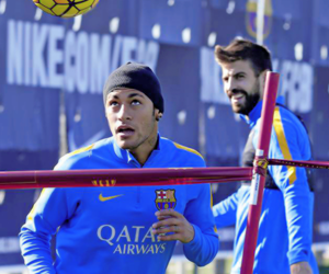 fc barcelona and neymar jr image
