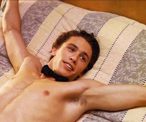 actor, bed, and james franco image