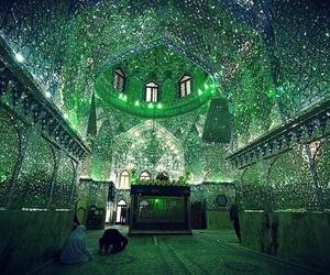 iran, shah cheragh, and green image