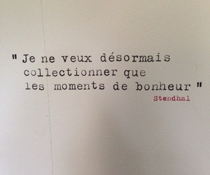 french, hapiness, and quotes image
