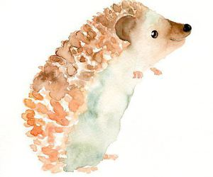 art, watercolor, and cute image