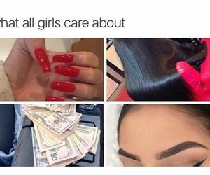 eyebrows, hair, and nails image