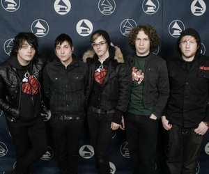 gerard way, mcr, and frank iero image