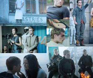 the hunger games, mockingjay, and mockingjay part 2 image