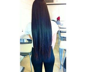 girl and long hair image