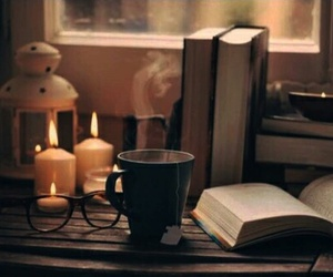 book, chill, and candle image