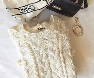 chanel, winter, and cozy image