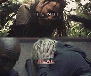 mockingjay, hunger games, and catching fire image