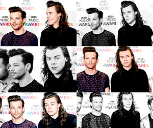 louis tomlinson, Harry Styles, and 1d image