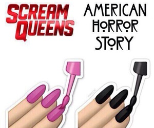 scream queens, american horror story, and sq image