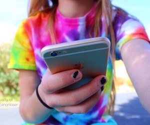 tumblr, girl, and iphone image