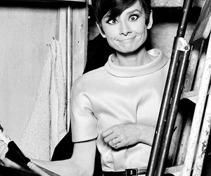 audrey hepburn, funny, and audrey image