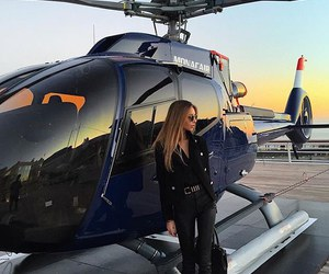 helicopter and luxury image