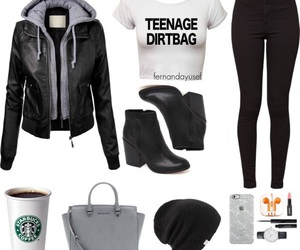 clothes, outfits, and Polyvore image