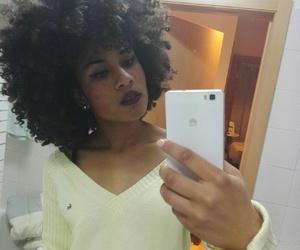 curly hair, natural hair, and afro hair image