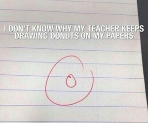 crying, donuts, and funny image