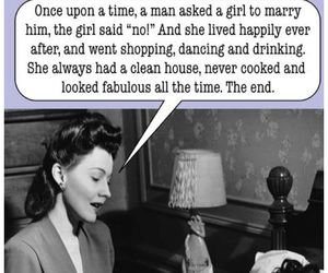 funny, woman, and story image