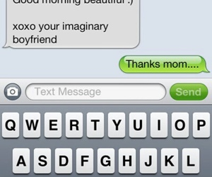 mom, text, and boyfriend image