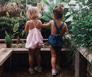 baby, best friends, and girl image