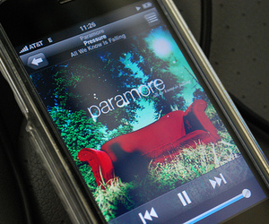 check, iphone, and paramore image