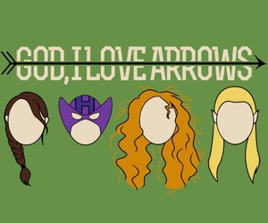 arrow, Avengers, and brave image