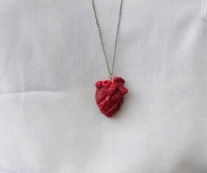 heart, red, and white image