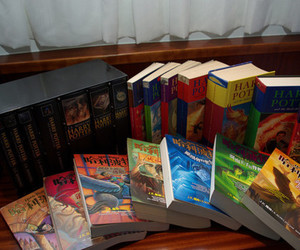 harry potter, books, and hp image