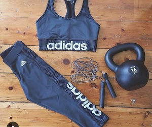 adidas, fitness, and workout image