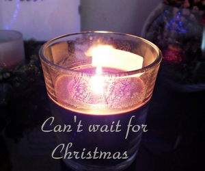 candle, lights, and christmas image