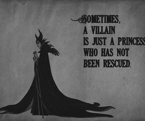 princess, disney, and villain image