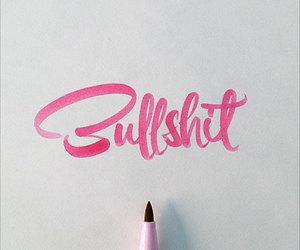 pink and bullshit image