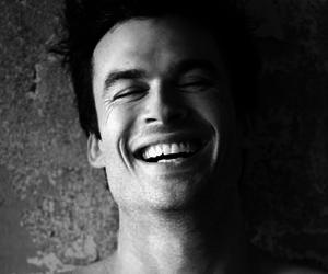 ian somerhalder, smile, and damon salvatore image