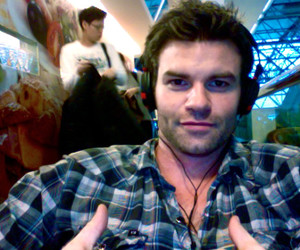 daniel gillies and the vampire diaries image