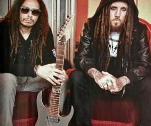 korn, brian head welch, and james munky shaffer image