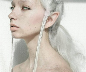 elf, white, and freckles image
