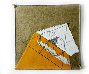 Collage, geometry, and triad image