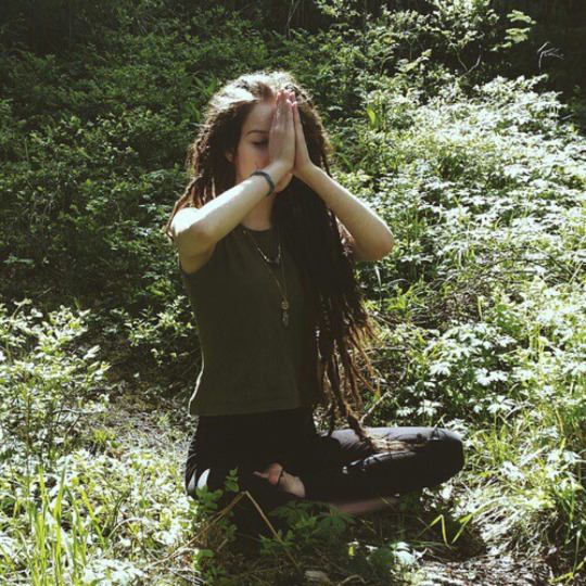 girl, nature, and hippie image