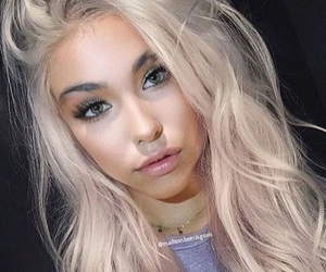 girl, madison beer, and blonde image