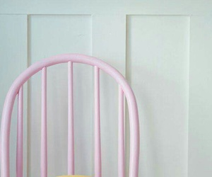 pink, pastel, and chair image