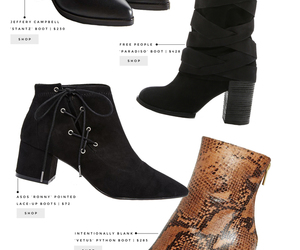 fall fashion, over the knee, and winter fashion image
