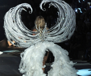 model, wings, and angel image