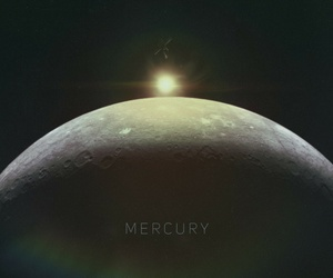 galaxy, mercury, and planet image
