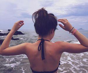 jade picon, beach, and summer image