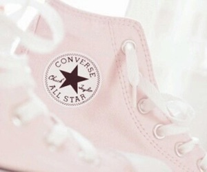 converse, girly, and pink image