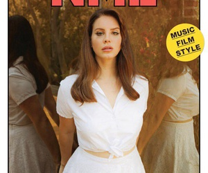 cover, white, and ️lana del rey image