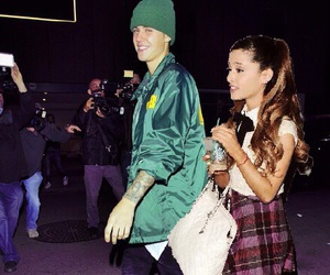 justin bieber, ariana grande, and beliebers image