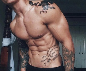 abs, n, and Tattoos image