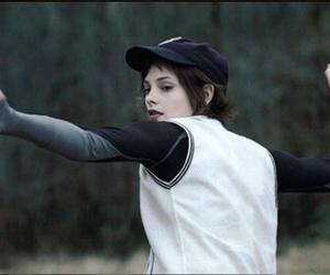 alice, ashley greene, and baseball image