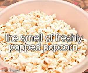 popcorn and smell image