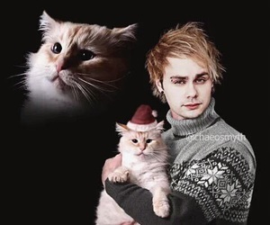 5sos, cat, and michael clifford image